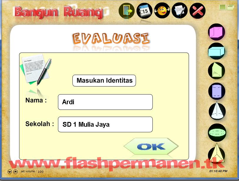 Cd Pem Bangun Ruang Flash Permanen